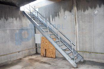 escalier galva